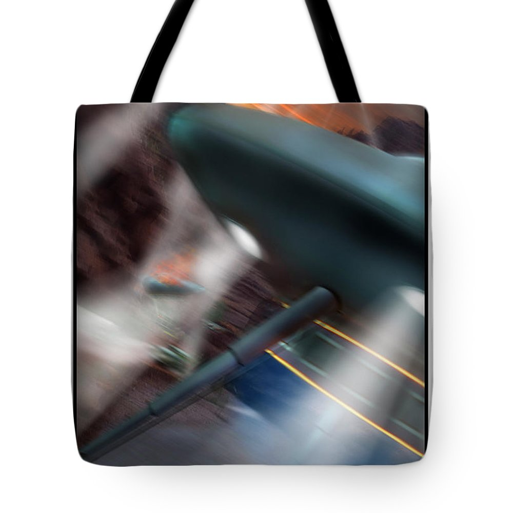 Ufo Tote Bag featuring the photograph Lost Film Number 6 by Mike McGlothlen