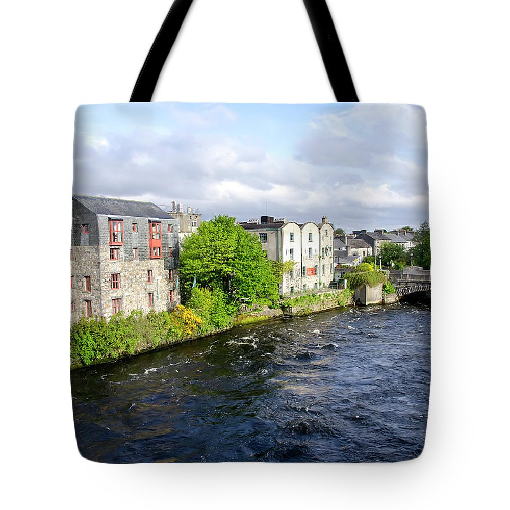 Tranquility Tote Bag featuring the photograph Lough Corrib Galway City Ireland by M Timothy O'keefe