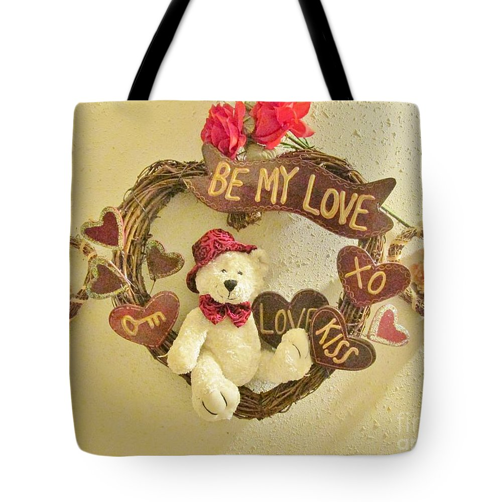 Love Be My Love Tote Bag featuring the photograph Love Be My Love by Don Baker