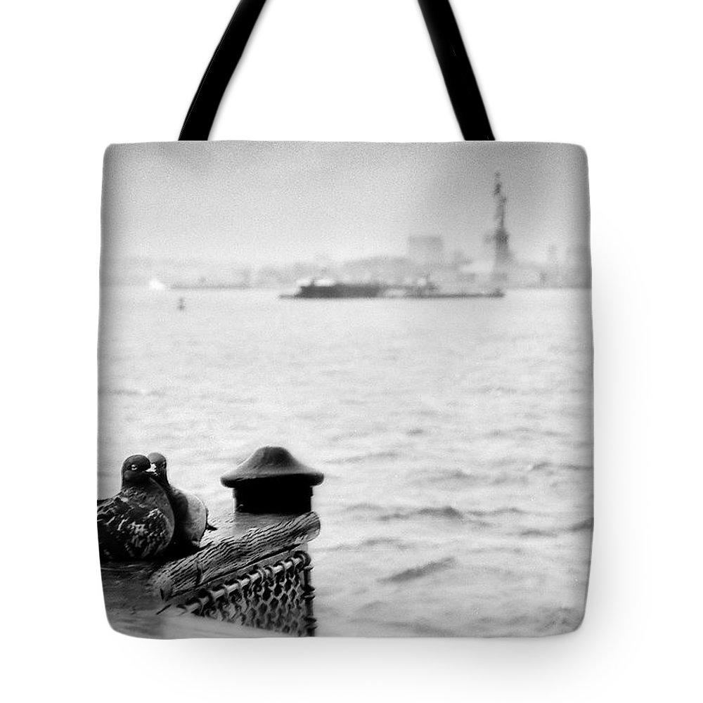 Tote Bag featuring the photograph Love Birds by Eric Ferrar