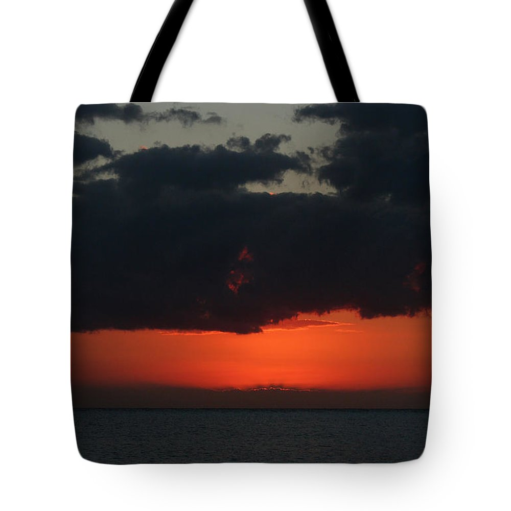 Cozumel Tote Bag featuring the photograph Love Is A Burning Thing by Laurie Search