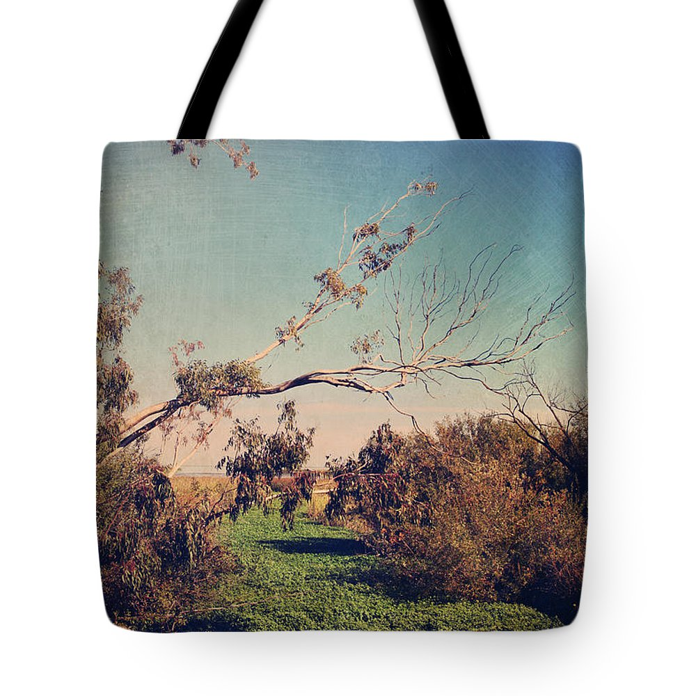 Big Break Regional Shoreline Park Tote Bag featuring the photograph Love Lives On by Laurie Search