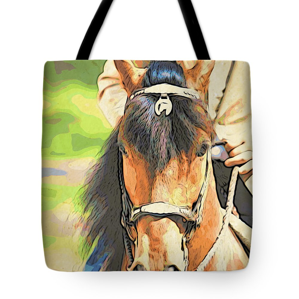 Paso Fino Tote Bag featuring the photograph Lovely Paso by Alice Gipson