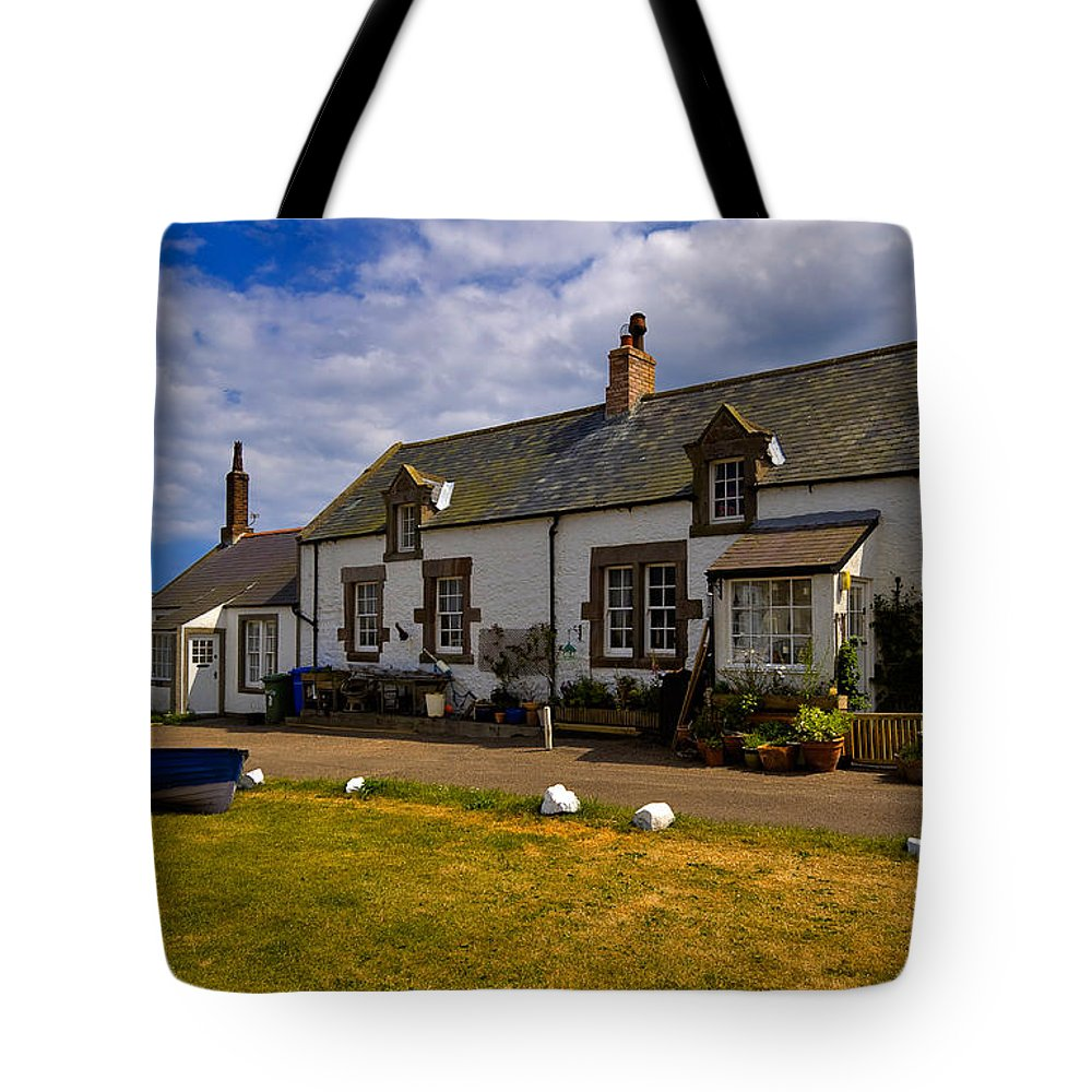 Travel Tote Bag featuring the photograph Low Newton By The Sea by Louise Heusinkveld