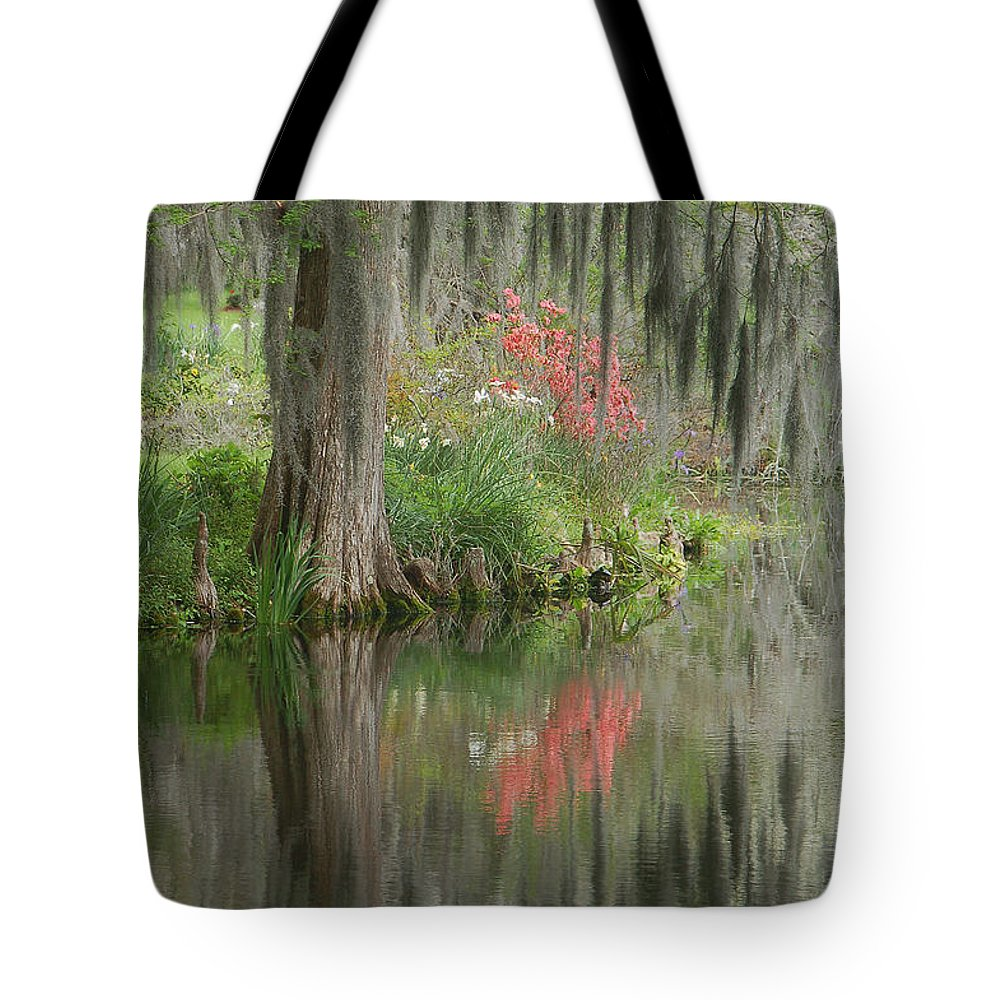 Lowcountry Tote Bag featuring the photograph Lowcountry Series I by Suzanne Gaff