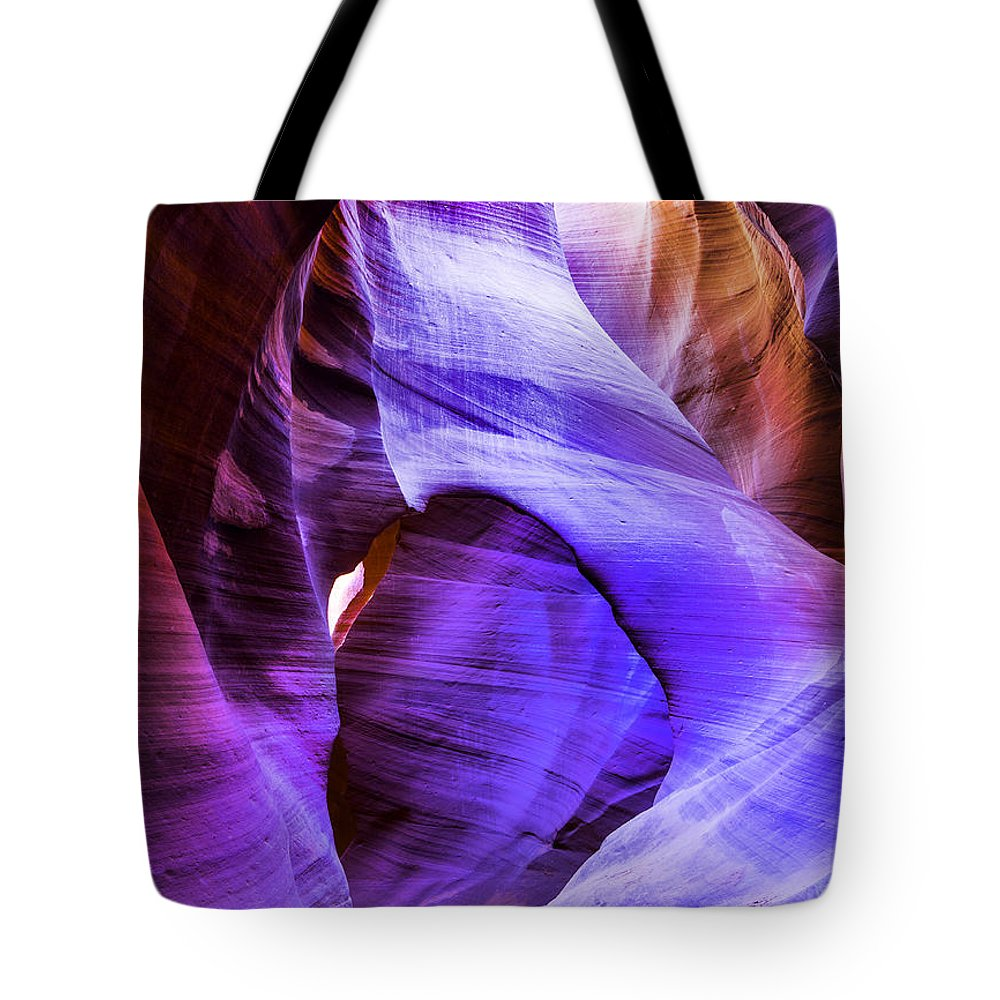 Landscape Tote Bag featuring the photograph Lower Antelope Canyon 1 by Jodi Jacobson