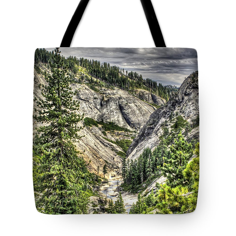 Ponderosa Pines Tote Bag featuring the photograph Lower Bear 2 by SC Heffner