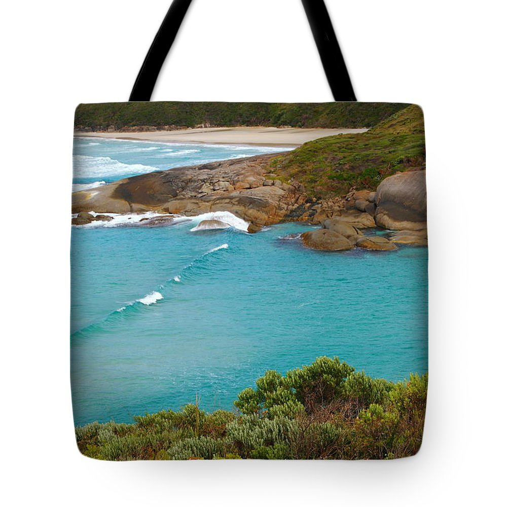 Lowlands Beach Tote Bag featuring the photograph Lowlands Beach 2am-112540 by Andrew McInnes