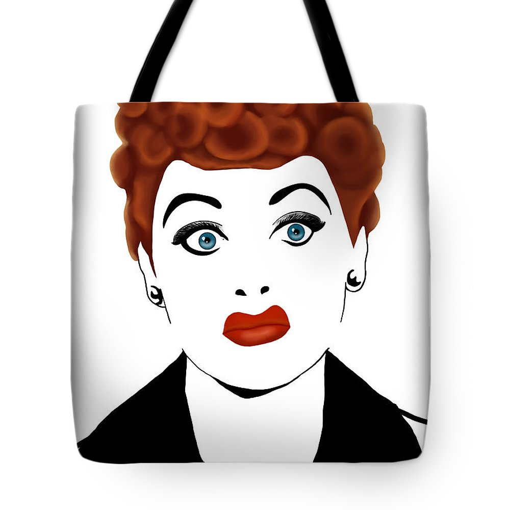 Lucy Tote Bag featuring the painting Lucy by Melissa King