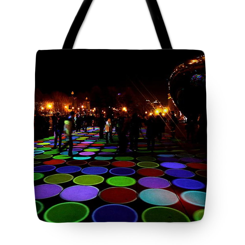 Luminous Field Tote Bag featuring the photograph Luminous Field by Sue Conwell