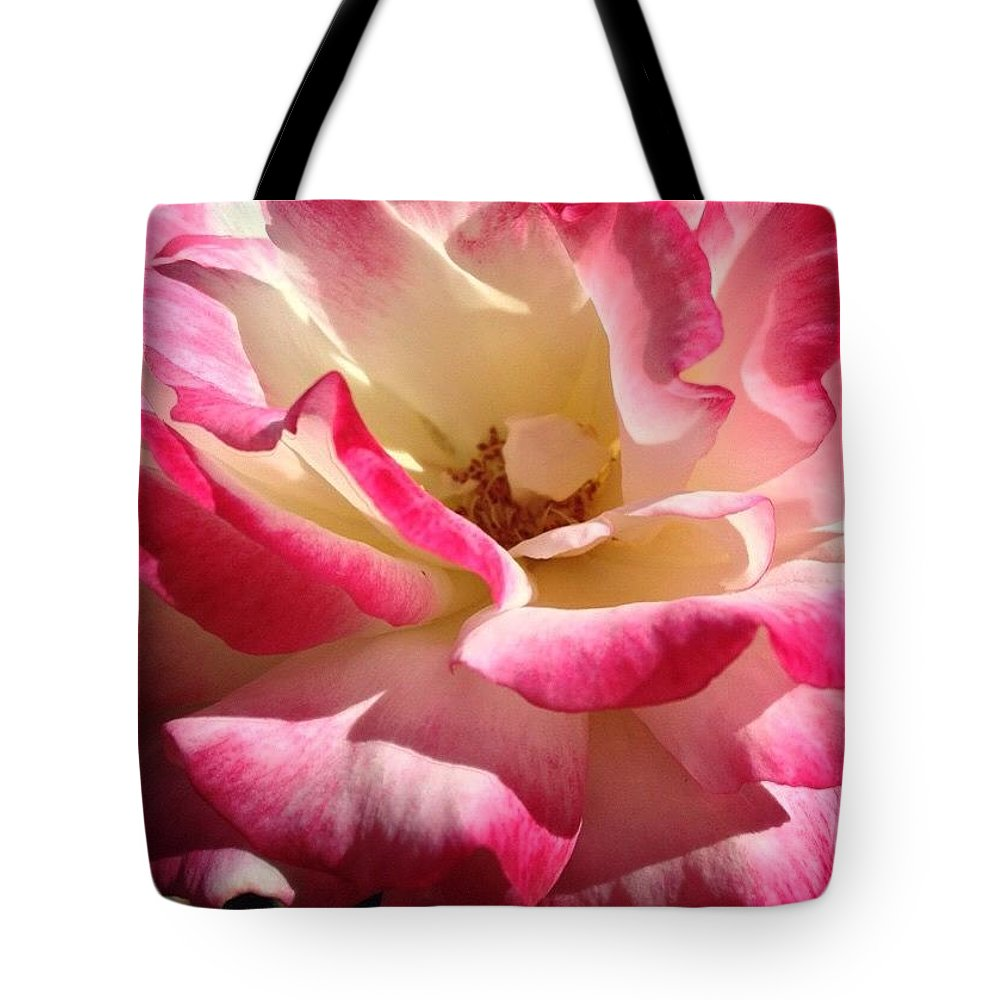 Luscious Tote Bag featuring the photograph Luscious by Anna Porter