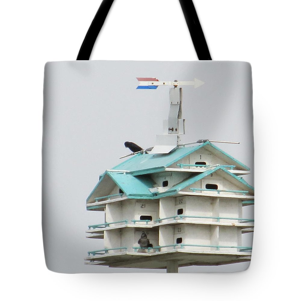 Bird Tote Bag featuring the photograph Luxury Bird Apartment by Tina M Wenger