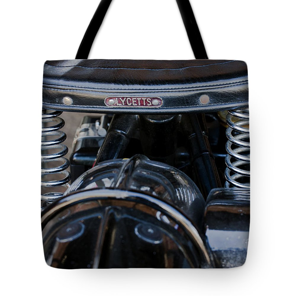 Lycetts Tote Bag featuring the photograph Lycetts Saddle by Terri Waters