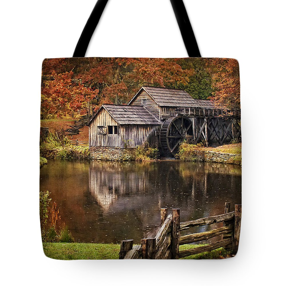 Millrace Photographs Tote Bags