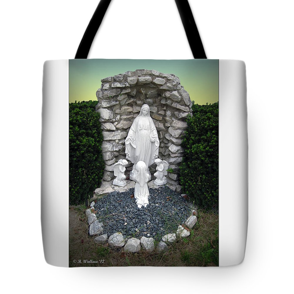 2d Tote Bag featuring the photograph Madonna by Brian Wallace