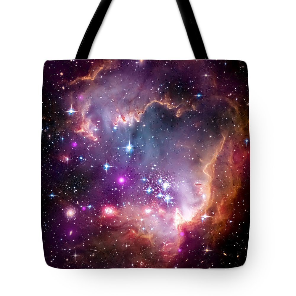 Universe Tote Bag featuring the photograph Magellanic Cloud 3 by Jennifer Rondinelli Reilly - Fine Art Photography