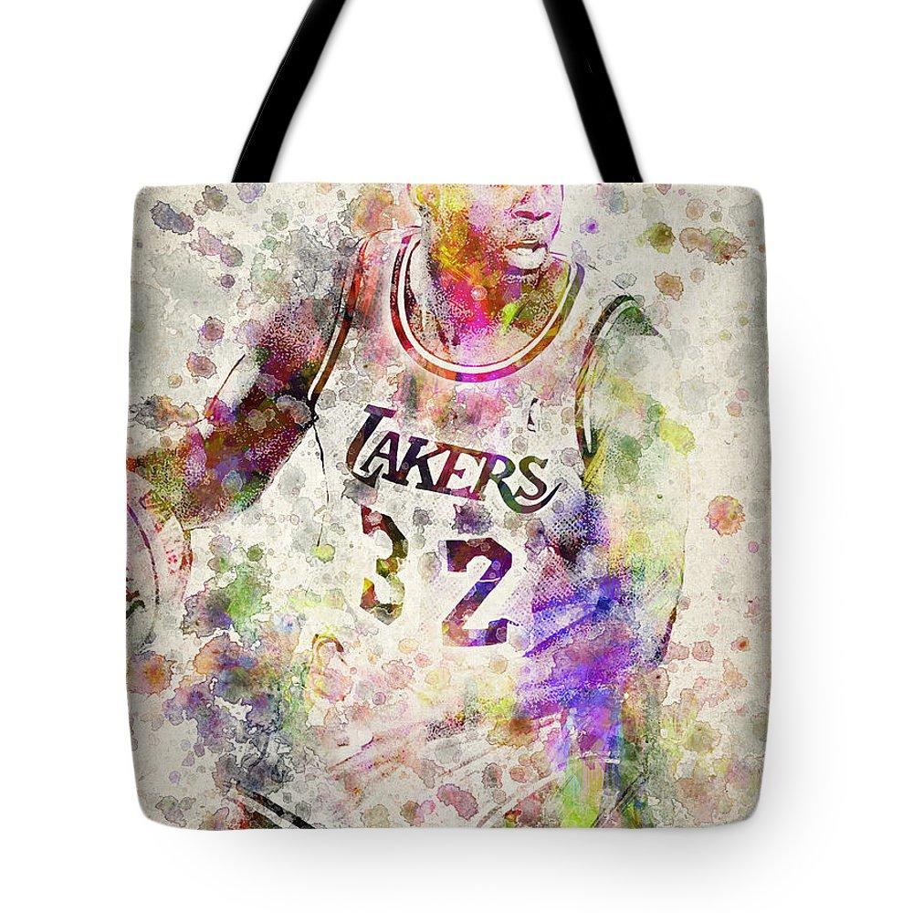 Magic Johnson Tote Bags
