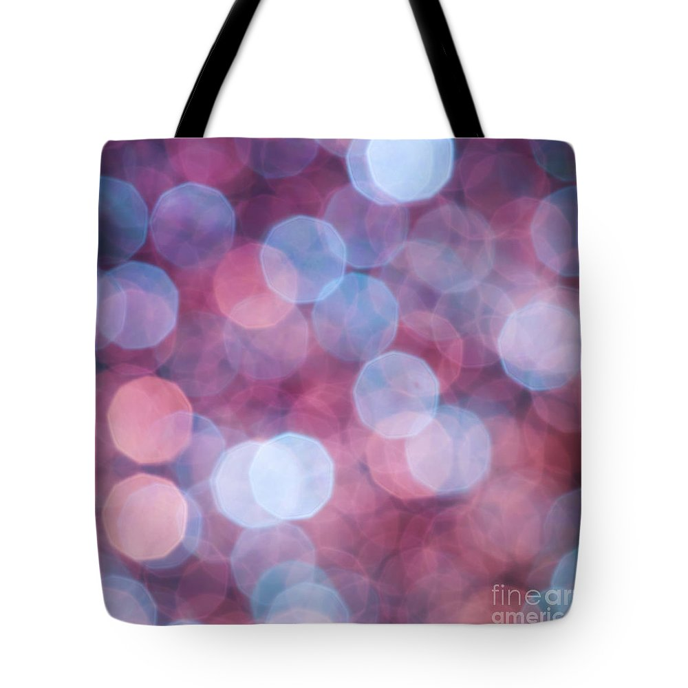 Abstract Tote Bag featuring the photograph Magic Show by Jan Bickerton