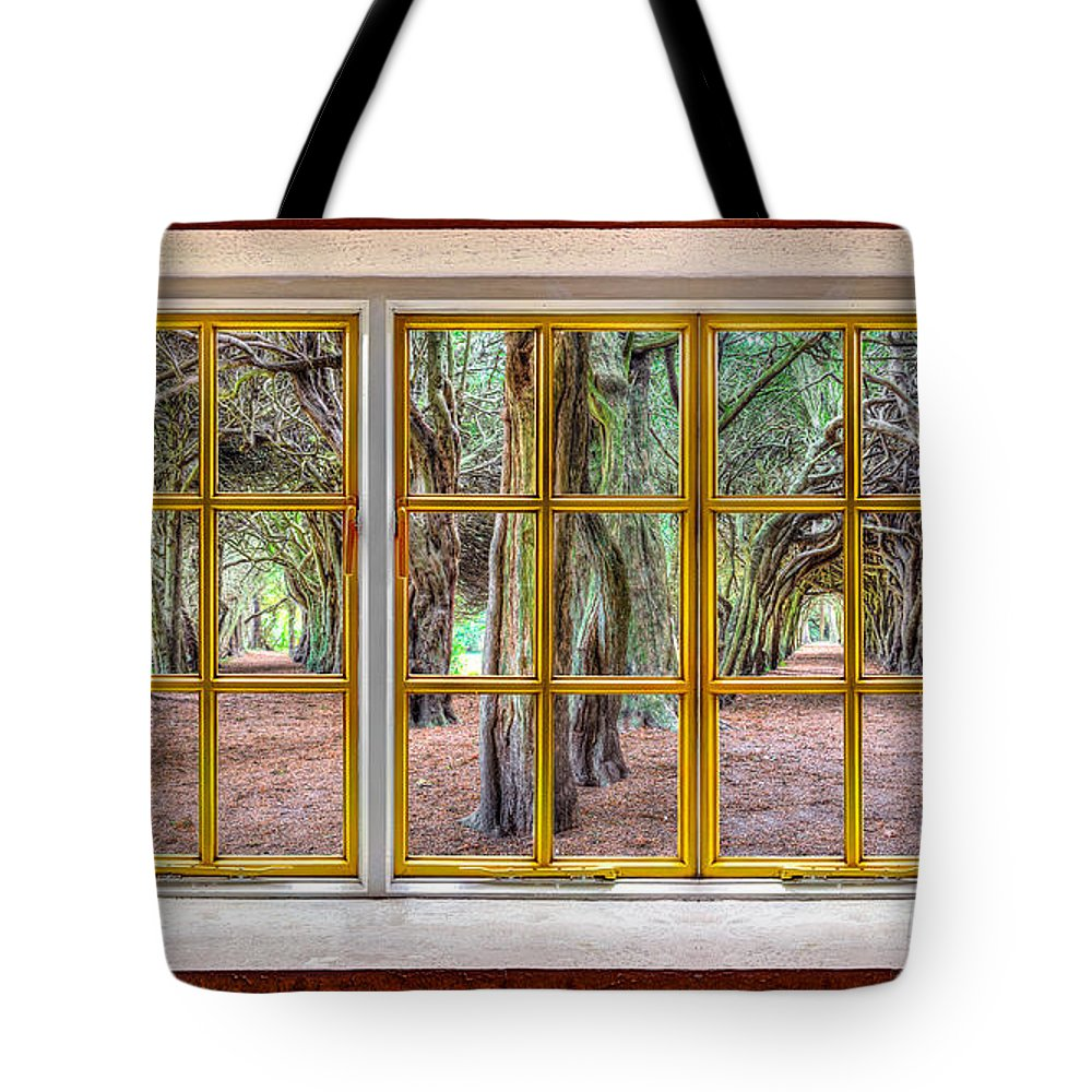 Architecture Tote Bag featuring the photograph Magical Trees by Semmick Photo