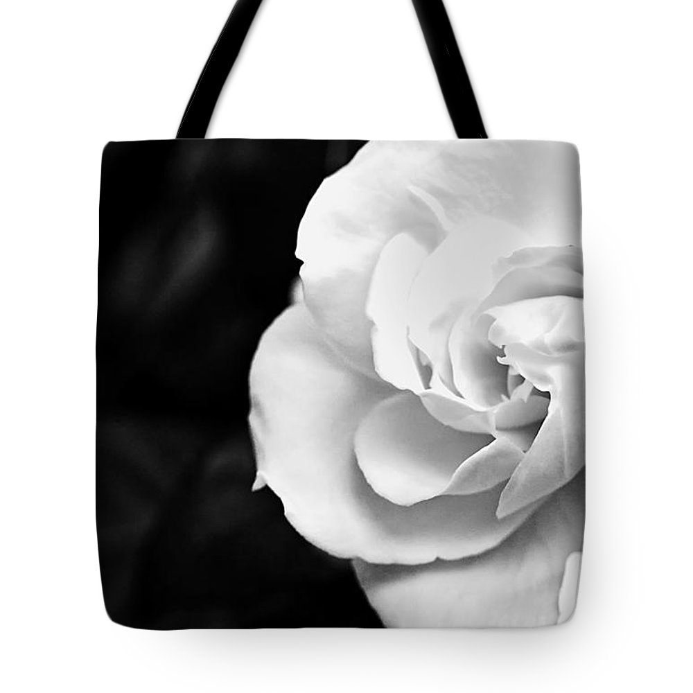 Magnolia Tote Bag featuring the photograph Magnolia With Leaves by Traci Law
