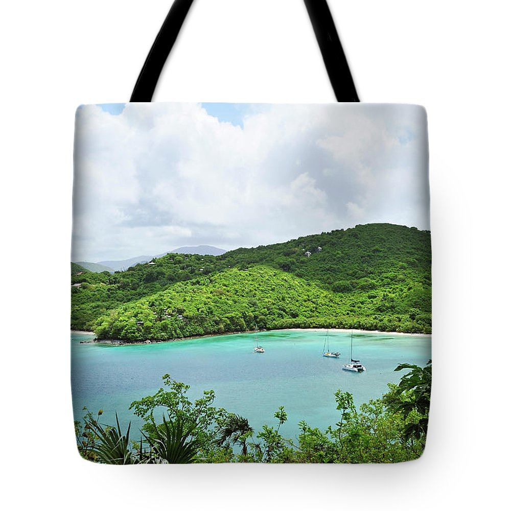 Scenics Tote Bag featuring the photograph Maho Bay, St. John by Driendl Group