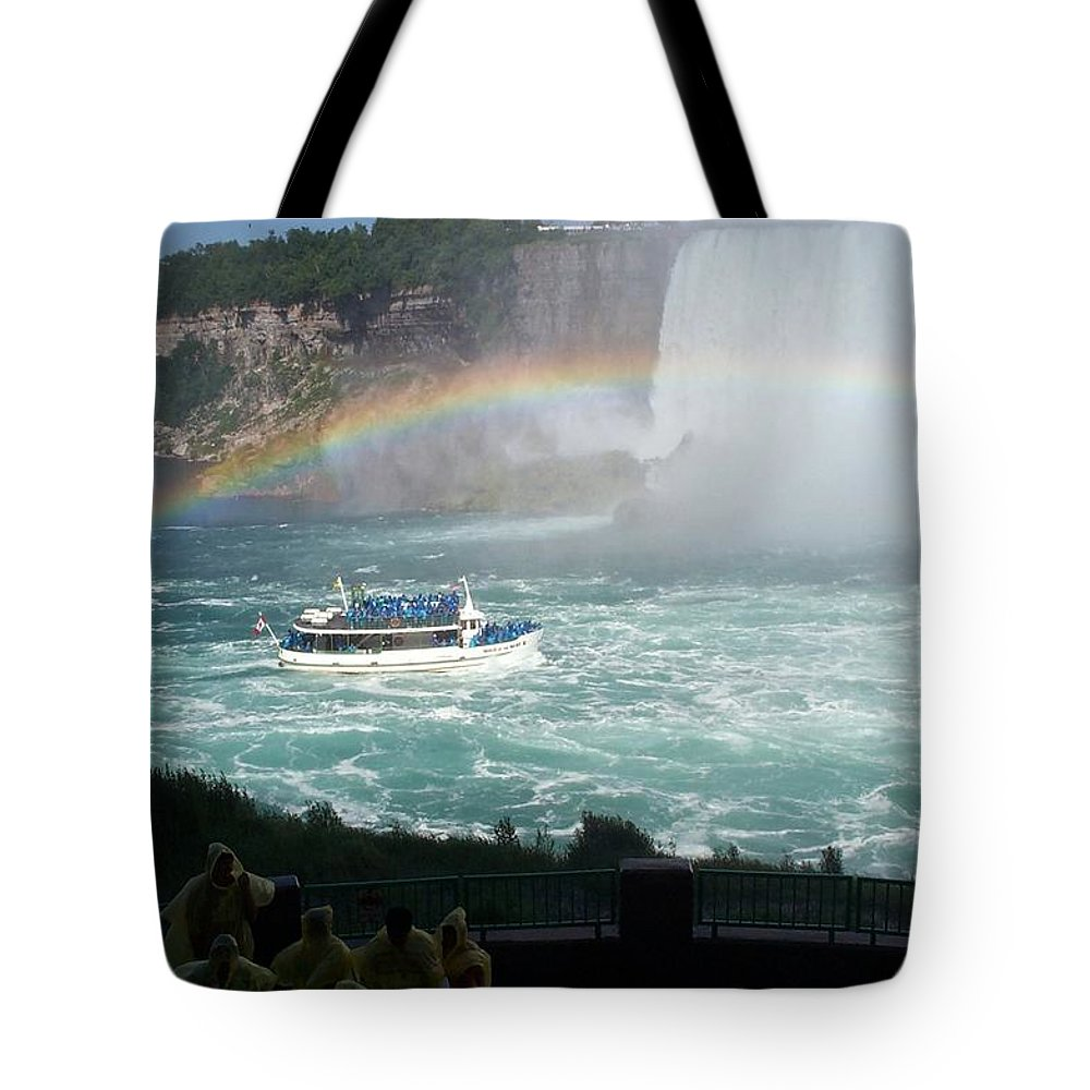 Boat Tote Bag featuring the photograph Maid Of The Mist -41 by Barbara McDevitt