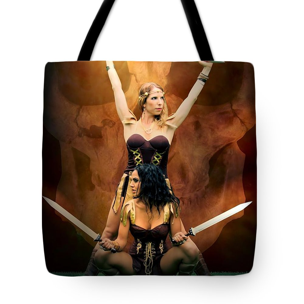 Sexy Tote Bag featuring the photograph Maidens Of The Killing Fields by Jon Volden