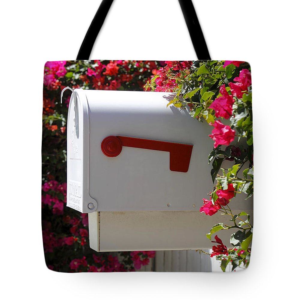 Architecture Tote Bag featuring the photograph Mailbox by Rudy Umans