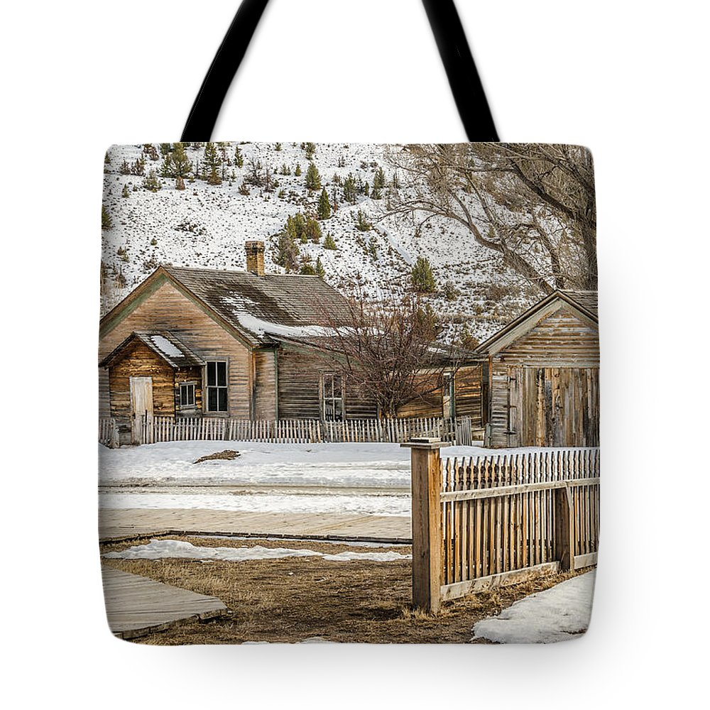 Bannack Tote Bag featuring the photograph Main Street by Sue Smith