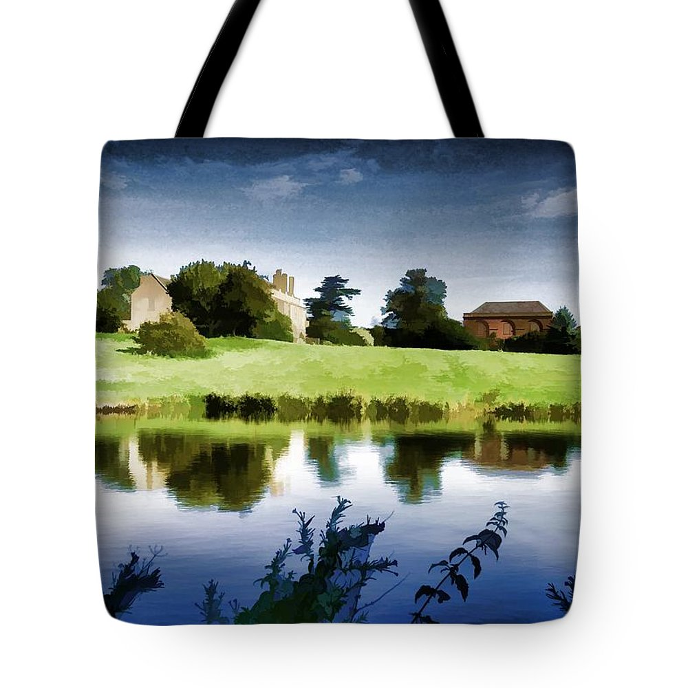 Maisemore Tote Bag featuring the photograph Maisemore Dreamscape by Ron Harpham