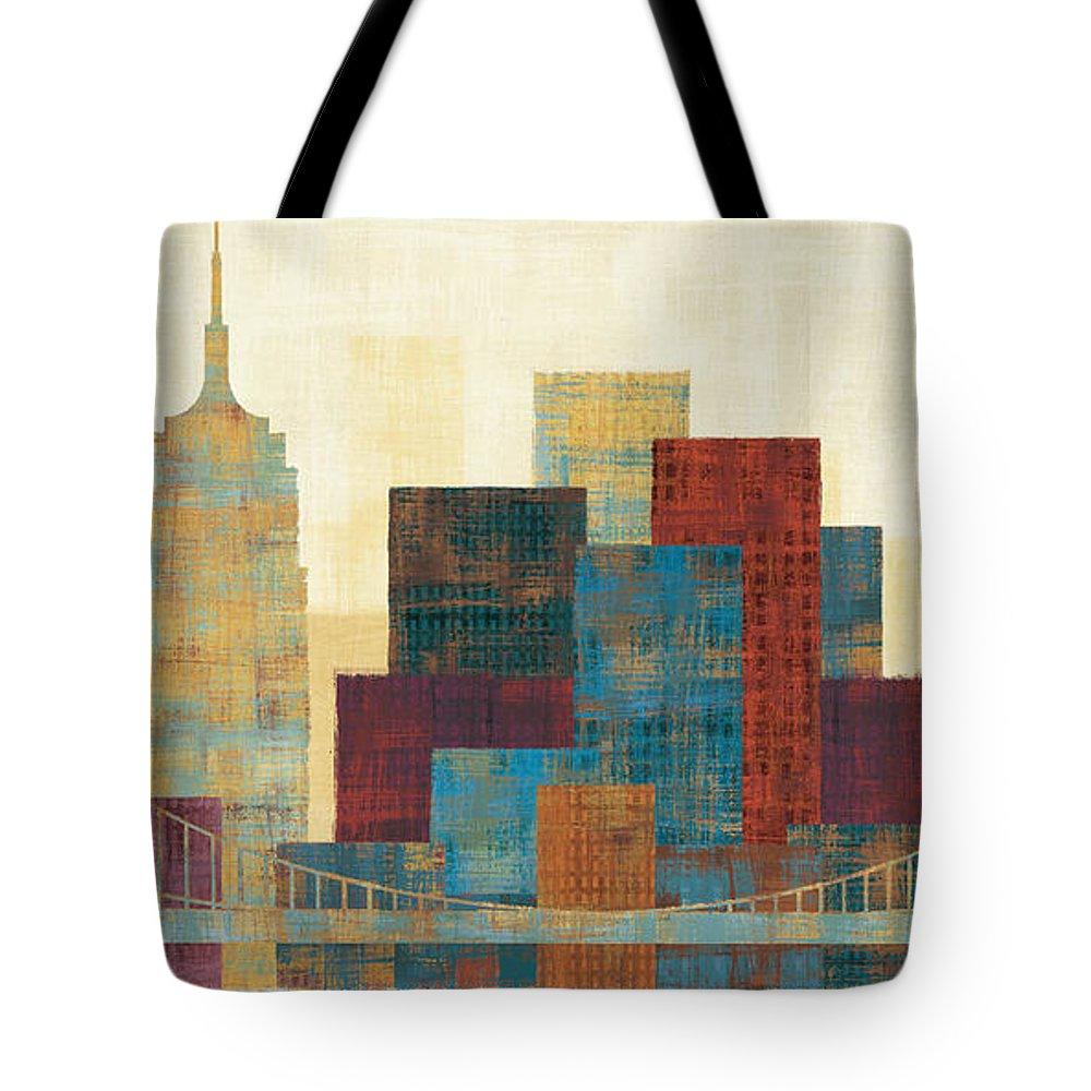Skyline Tote Bags