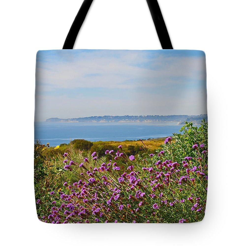 Malibu Tote Bag featuring the photograph Malibu by Lynn Bauer