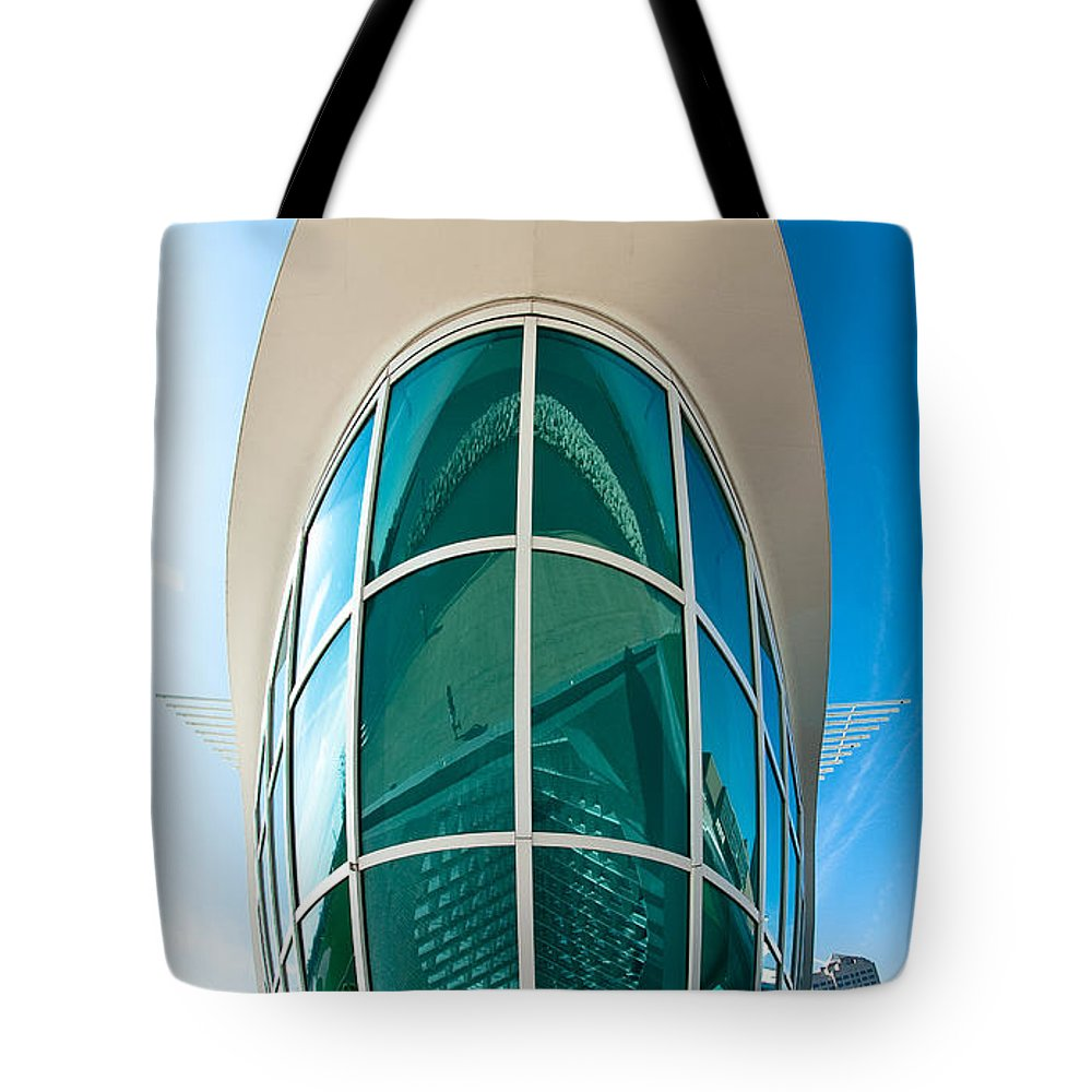 Milwaukee Tote Bag featuring the photograph Mam Verticle by Steven Dunn