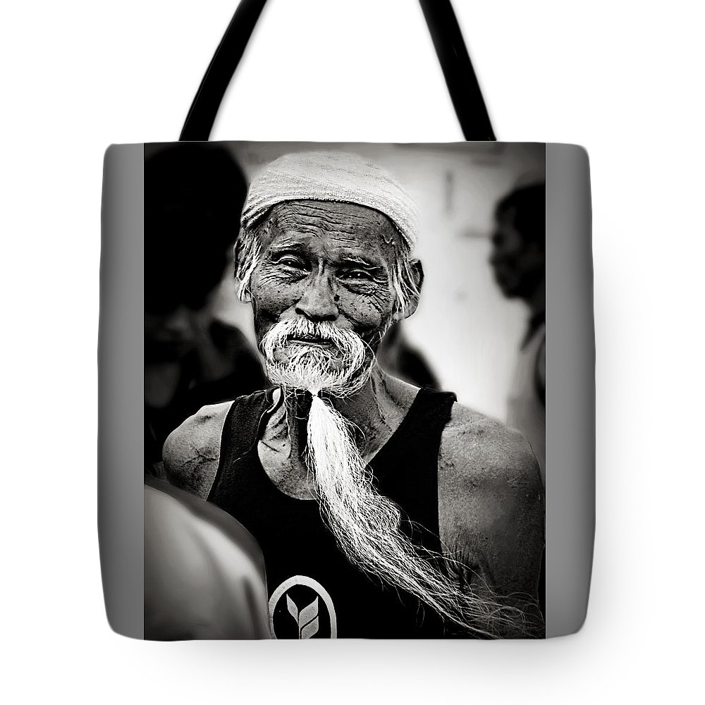Portrait Tote Bag featuring the photograph Marathon Of Time by Ian Gledhill