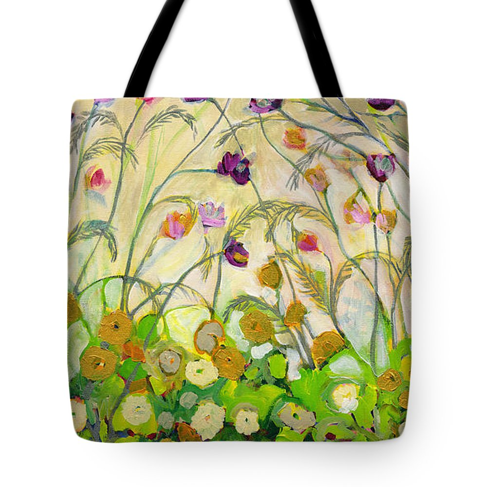 Landscape Tote Bag featuring the painting Mardi Gras by Jennifer Lommers