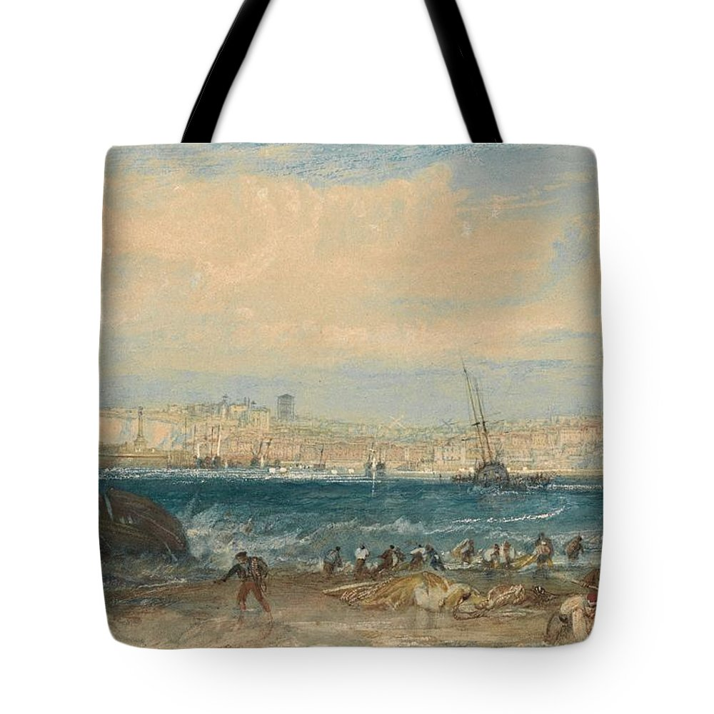 1822 Tote Bag featuring the painting Margate by JMW Turner