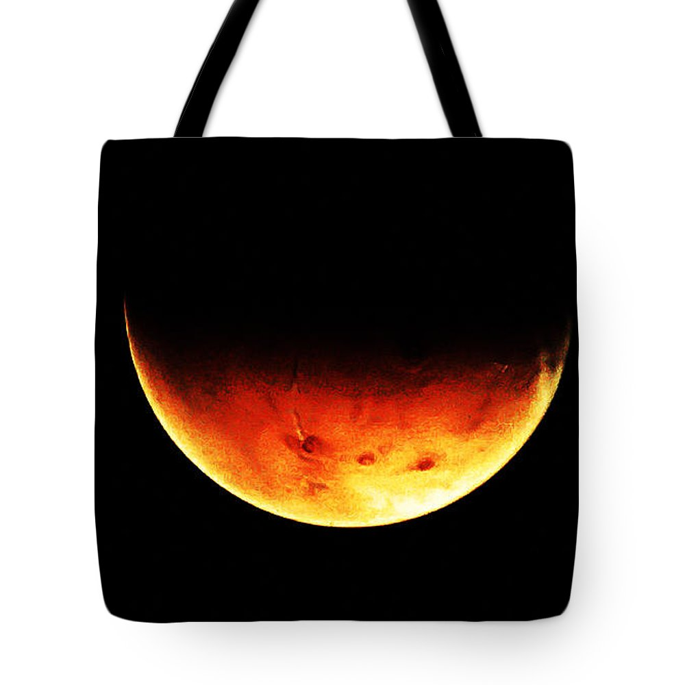Mars Tote Bag featuring the photograph Mars by Bill Cannon