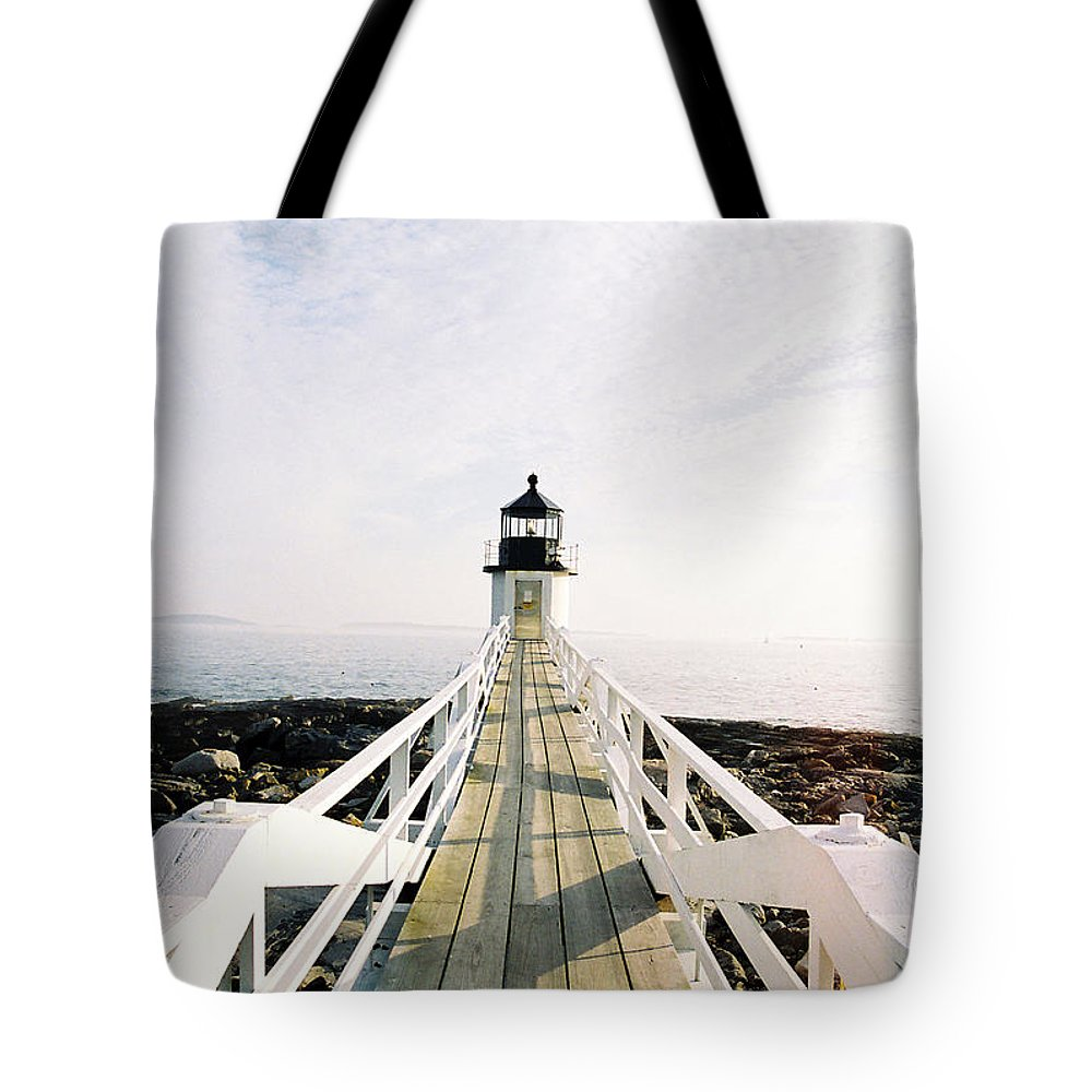 Marshall Point Tote Bag featuring the photograph Marshall Point Approach by IMH Photog