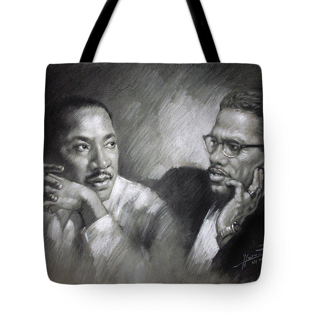 African American Tote Bags
