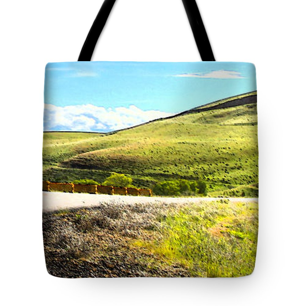 Maryhill Spring 2014 Tote Bag featuring the photograph Maryhill Spring 2014 by Carl Warren