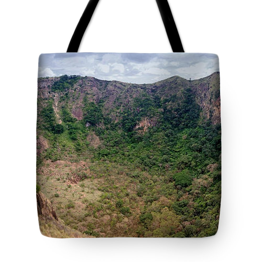 Central Tote Bag featuring the photograph Masaya Old Crater Nicaragua 1 by Rudi Prott
