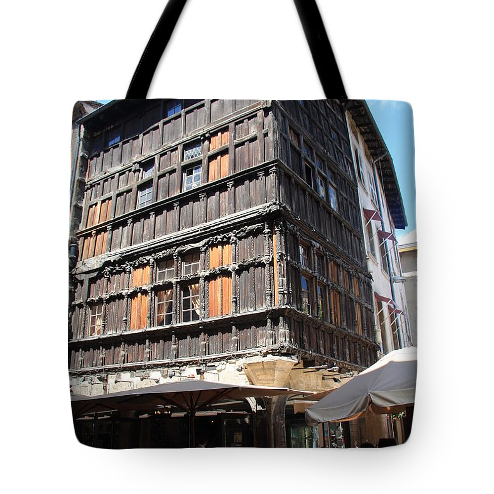 House Tote Bag featuring the photograph Mason Du Bois Macon by Christiane Schulze Art And Photography