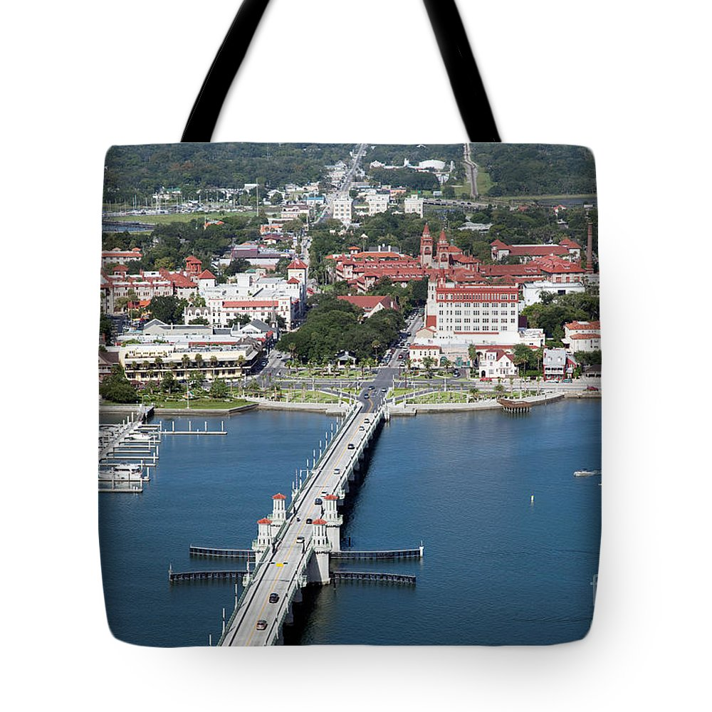 Florida Tote Bag featuring the photograph Matanzas Harbor St Augustine Florida by Bill Cobb