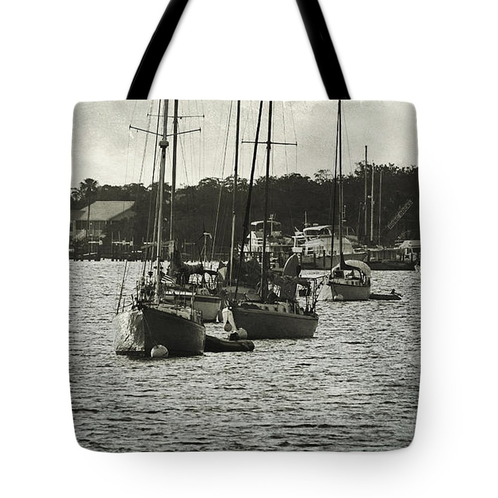 Fort Myers Beach Tote Bag featuring the photograph Matanzas Pass by Kim Hojnacki