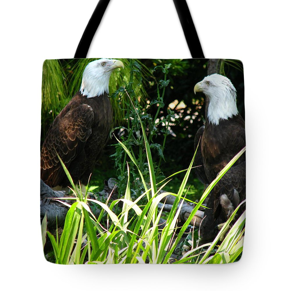 Patzer Tote Bag featuring the photograph Mates by Greg Patzer