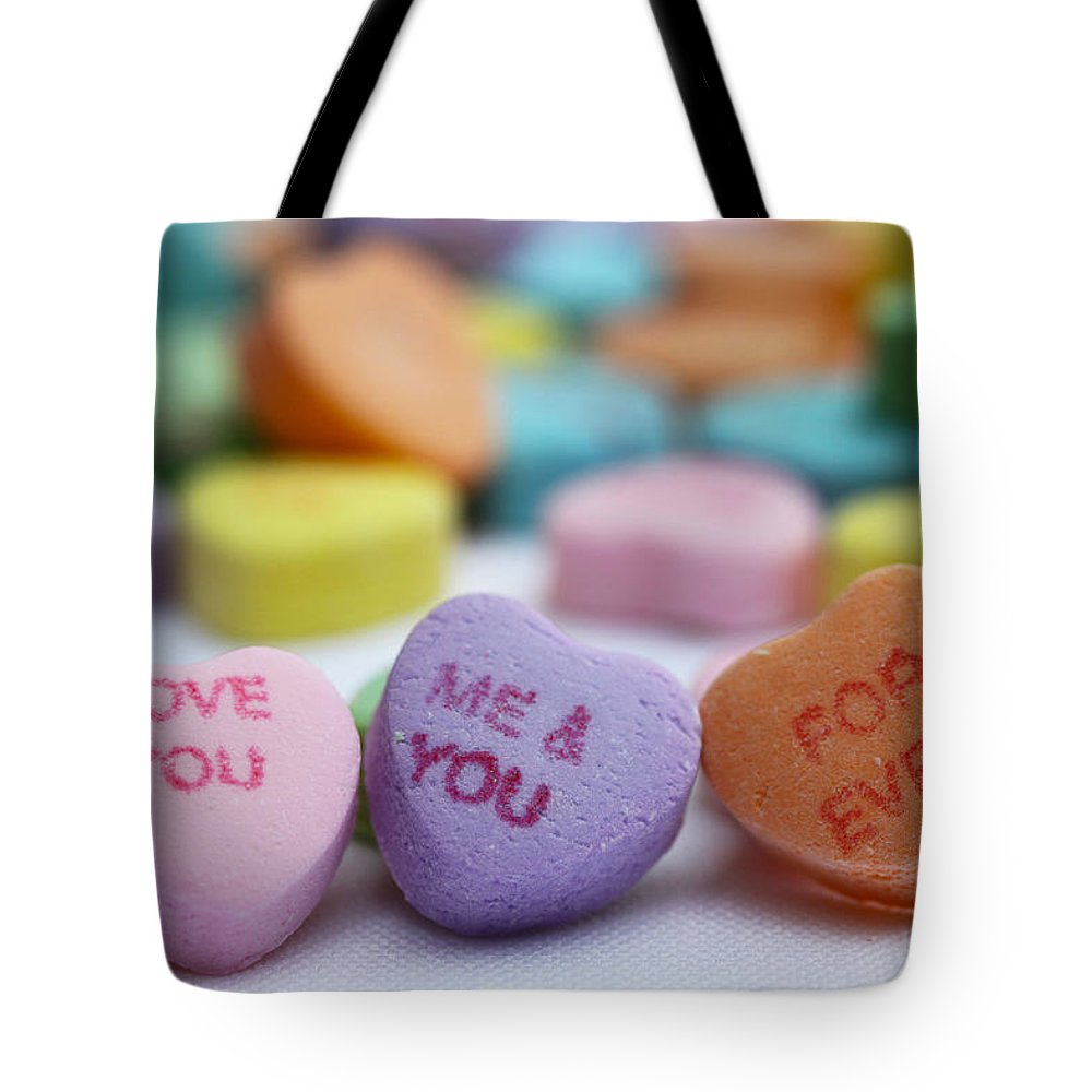 Valentines Tote Bag featuring the photograph Me And You Forever by Diana Haronis
