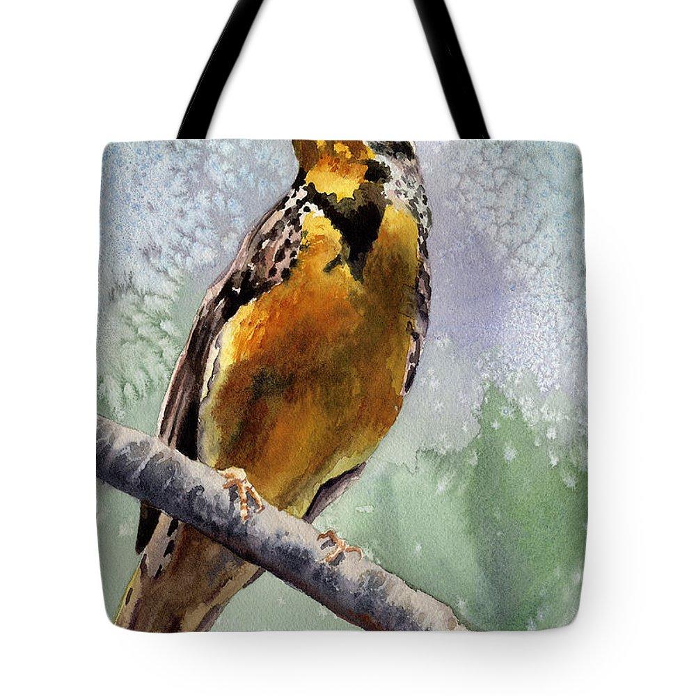 Meadowlark Tote Bags