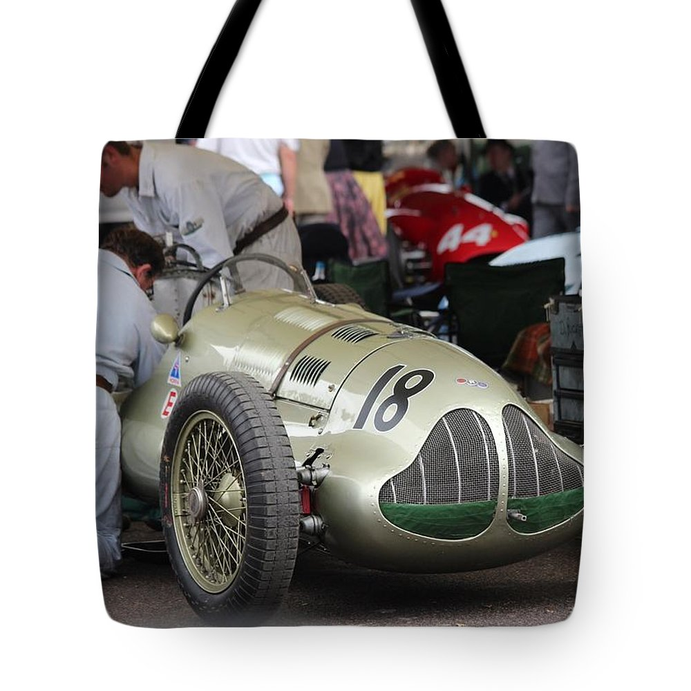 Era Tote Bag featuring the photograph Mechanics Work Is Never Done by Robert Phelan
