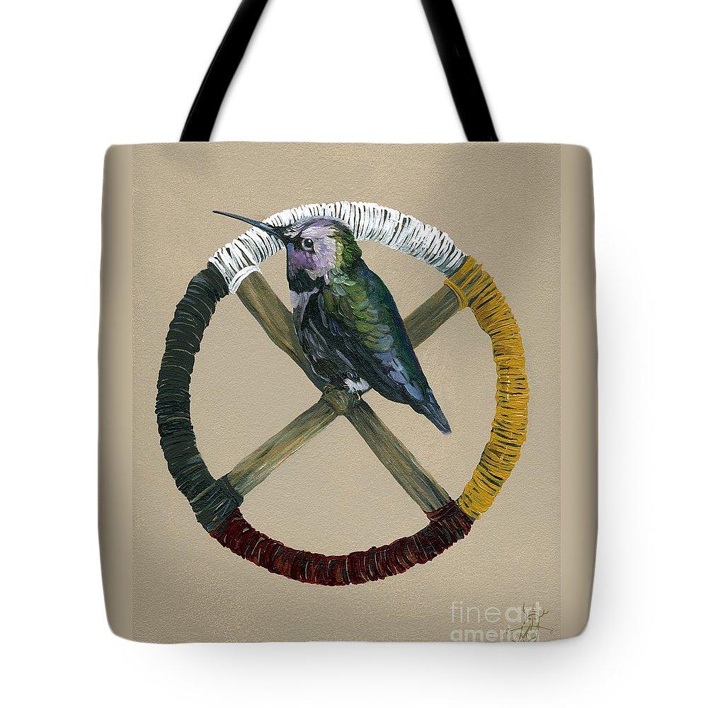 Medicine Wheel Tote Bags