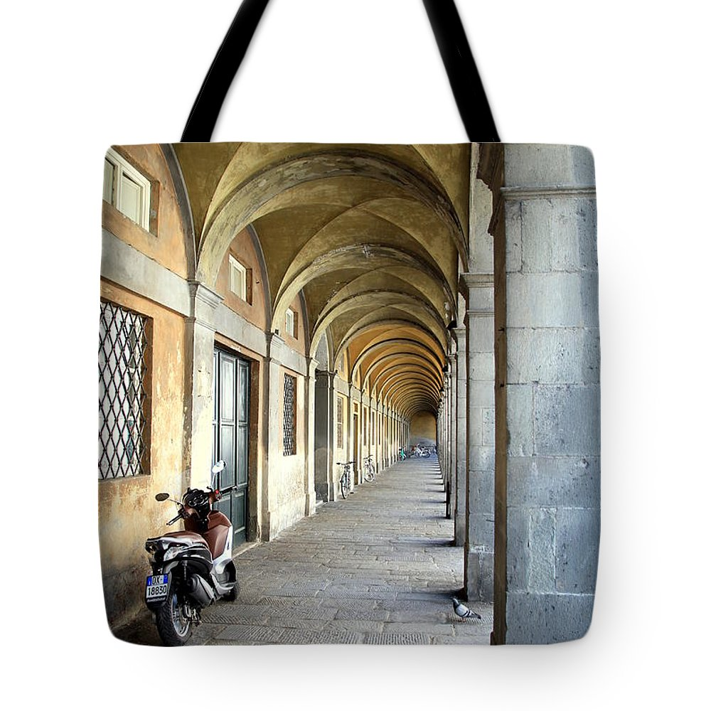 Italy Tote Bag featuring the photograph Medieval Pass by Valentino Visentini